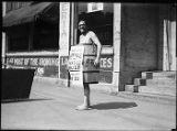 "Mayor Edwin Brown promoting ""Bundle Day,"" May 15, 1925"