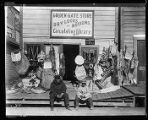 Golden Gate Store and Circulating Library, Alaska, 1905