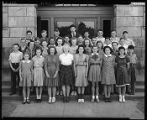 Seventh grade class at West Woodland School, 1941