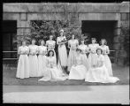 Holy Names Academy: May Queen Court, May 15, 1943