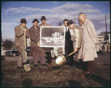 U. S. Science Pavilion groundbreaking ceremony, Seattle World's Fair, February 22, 1961