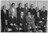 Portrait of department heads, Seattle World's Fair, 1962