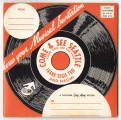 """Come & See Seattle,""  souvenir record from the Seattle World's Fair, 1962"