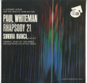 """Paul Whiteman Conducts Rhapsody 21,"" souvenir record album  of music composed and..."
