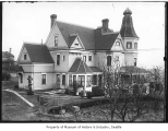 Kinnear residence from rear, Seattle, ca. 1900