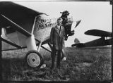 Charles Lindbergh at Sand Point, September 1927