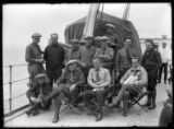 "Amundsen and the crew of the ""Norge,"" June 27, 1926"