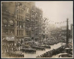 Naval parade at  Golden Potlatch parade, Seattle, July 21, 1911