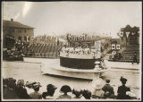 Burnside Hats float in Golden Potlatch parade, Seattle, July 1911