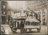 """Afro-Americans"" float in Golden Potlatch parade, Seattle, July 1911"