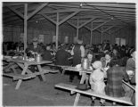 Mess hall at Camp Harmony, Puyallup, 1942