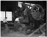 Men working at the Pacific Car and Foundry Company, Renton, 1938