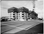 Grosvenor apartments under construction, Seattle, 1949