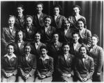 Group of Washington Motor Coach conductorettes, 1939