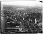 Aerial view of downtown Seattle looking northeast, 1937