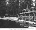 Lodge at Lake Lucerne, ca. 1928