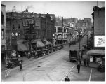International District street scene looking northeast, Seattle, 1934