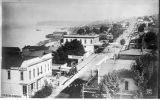 Front Street from Frye's Opera House, ca. 1885