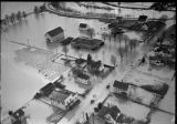 Flood at Orillia, December 12, 1933