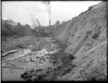 Digging the channel for the Lake Washington Ship Canal, ca. 1915
