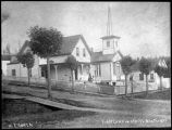 Seattle's first church, ca. 1885