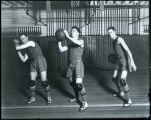 Basketball players at the University of Washington, 1918