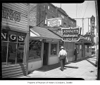 Johnie's Hamburgers and Verlou Dine and Dance near the intersection of Greenwood Avenue North and...