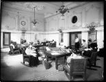 Women's waiting room at King Street Station, ca. 1906