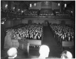 University Christian church interior, Seattle, ca. 1940