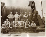 Submarine cable repair crew, Seattle, July 1936