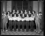 Entertainers wearing western clothing, 1935