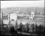 Aurora Bridge abutments, ca. 1931