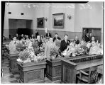 City council meeting, Seattle, 1937