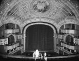Interior of the Moore Theater, ca. 1910