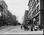 Second Avenue at Union Street, ca. 1910