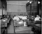Class at Wilson's Modern Business College, ca. 1910