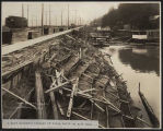 Bulkhead along Alki Avenue SW, October 28, 1913