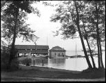 Schertzer Brothers' boathouse and boat building company, ca. 1909