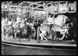 Children on the carousel at Luna Park, ca. 1907