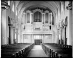 Organ loft at St. James Cathedral, ca. 1907