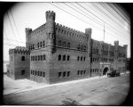 Armory at Western Avenue and Lenora Street, ca. 1909