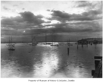 Boats in Elliott Bay, Seattle, ca. 1898