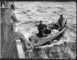 Halibut fishermen in dory, ca. 1909