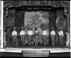Women in the chorus at the Lyceum Theatre, ca. 1909