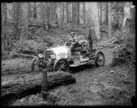 Studebaker EMF auto at Snoqualmie Pass, ca. 1910