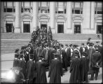 Academic procession at the University of Washington, 1913