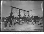 Children on swings in Lincoln Park, Seattle, ca. 1911