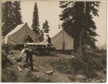 Campers at Mount Rainier National Park, 1922