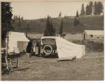 Car tent at Mount Rainier National Park, 1922