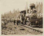 Logging train from the Preston Mill Company, ca. 1925